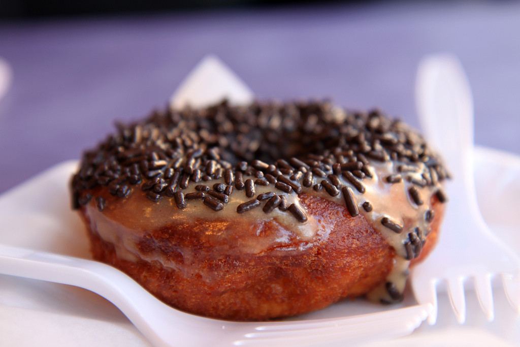 Dunkin Donuts has reported removed trans fats from its food products. Image credit: PROMr.TinDC, Flickr.com.