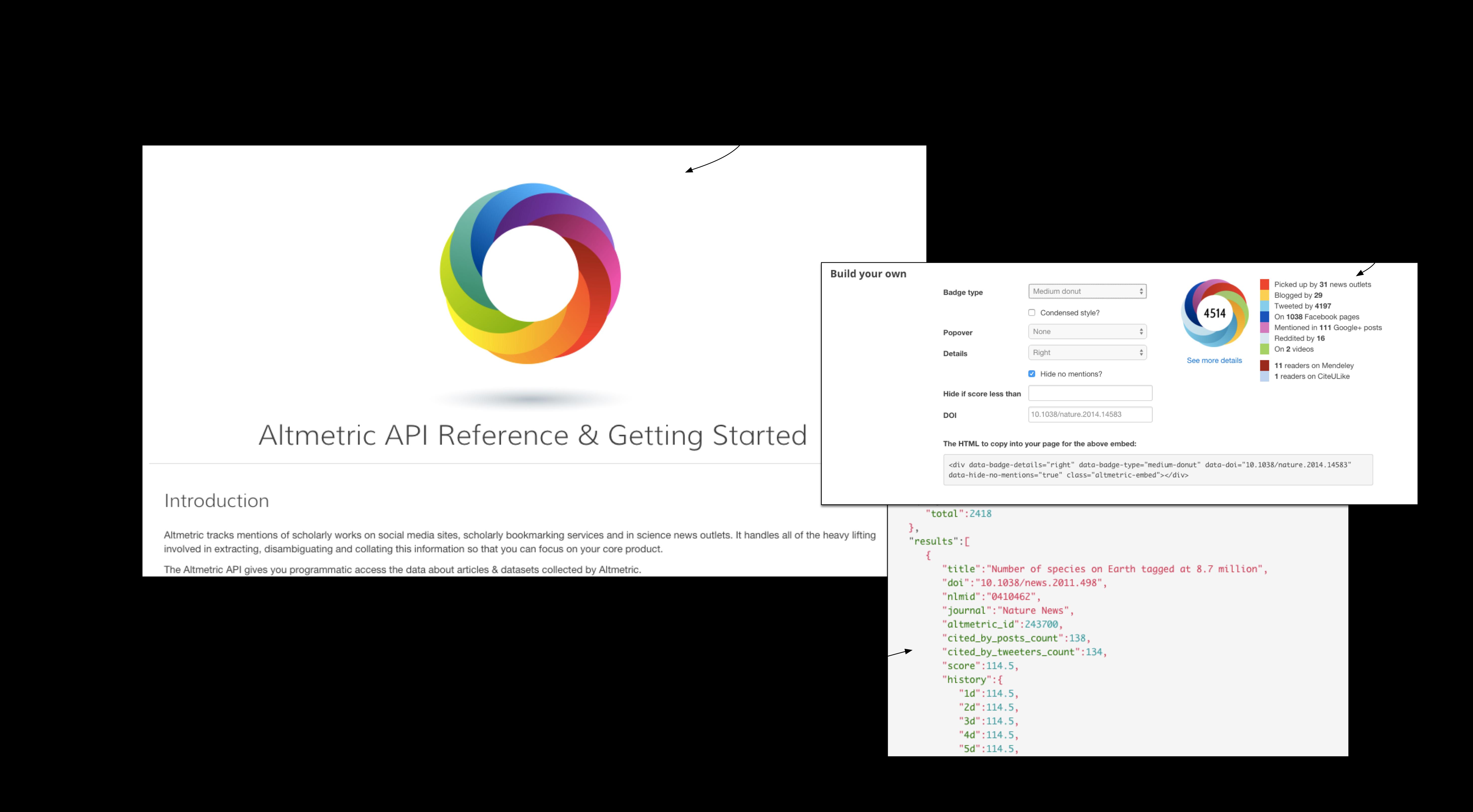Altmetric API