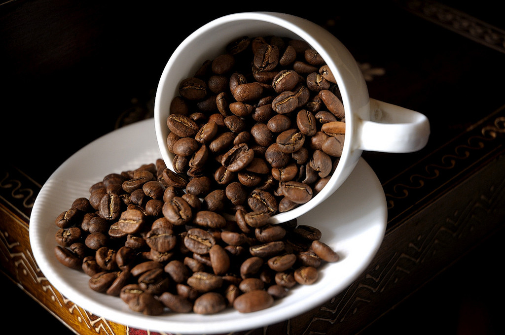 Coffee beans. Image credit: Kishore Bhargava, Flickr.com