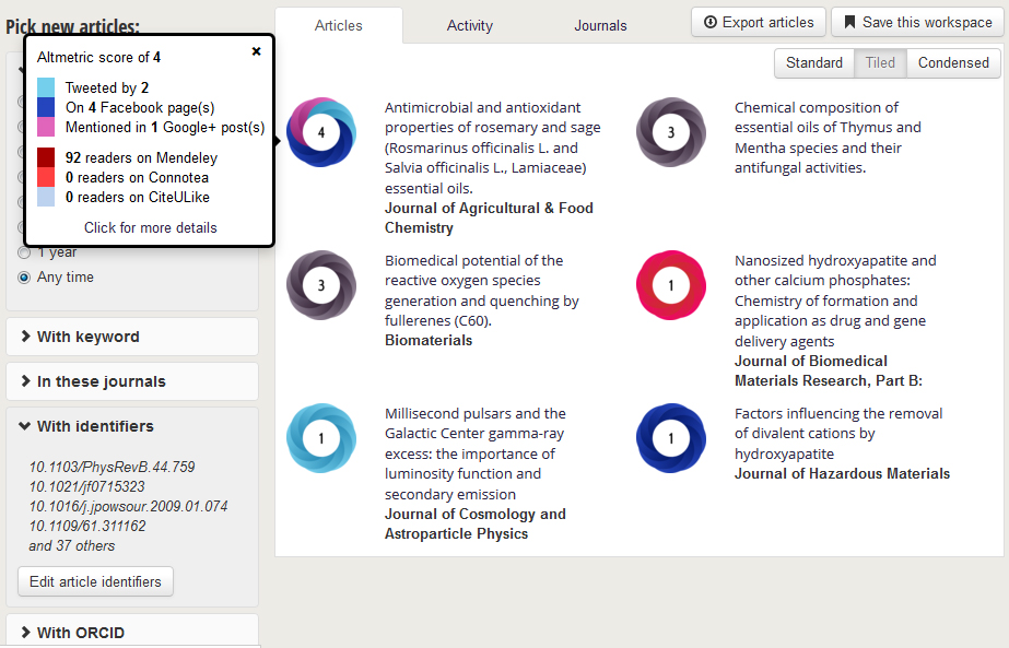 Altmetric scores for papers authored by Serbian scientists are rather low
