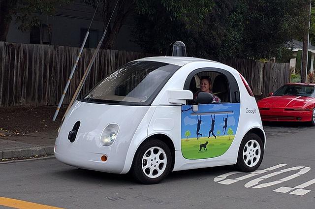 Image: Goolgle's driverless car. Credit: Grendelkhan, Wikipedia.