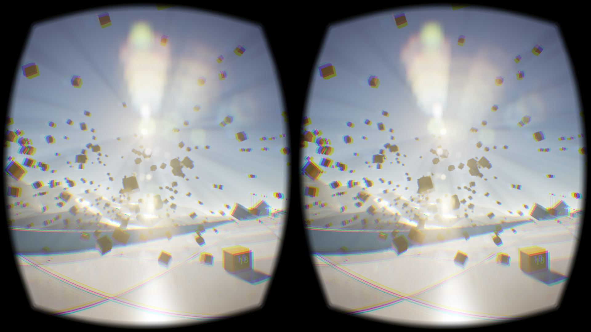 Image captured from an Oculus Rift DK2. Image credit: Ats Kurvet.