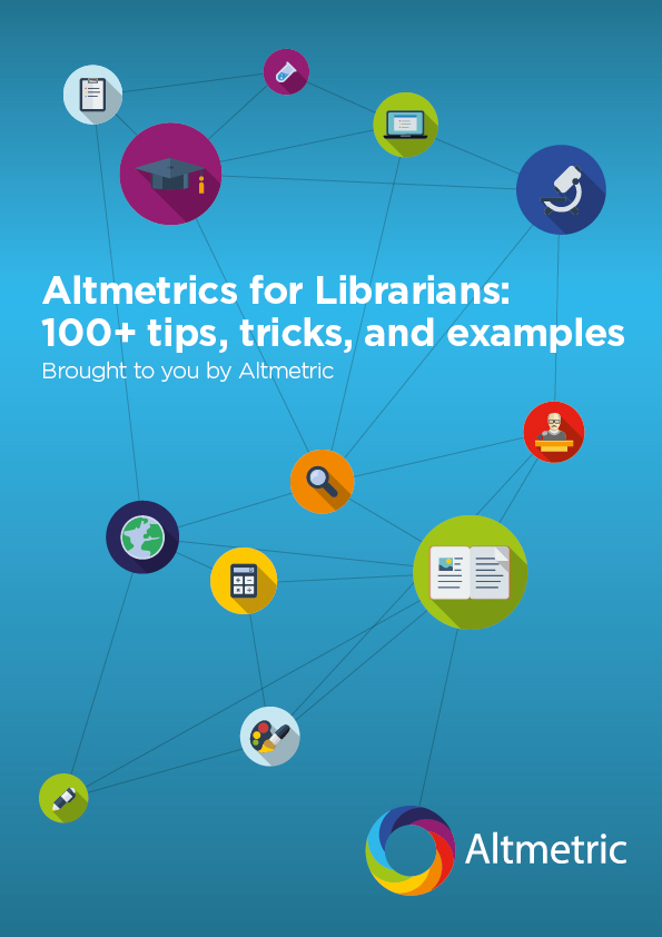 Altmetrics for Librarians ebook cover