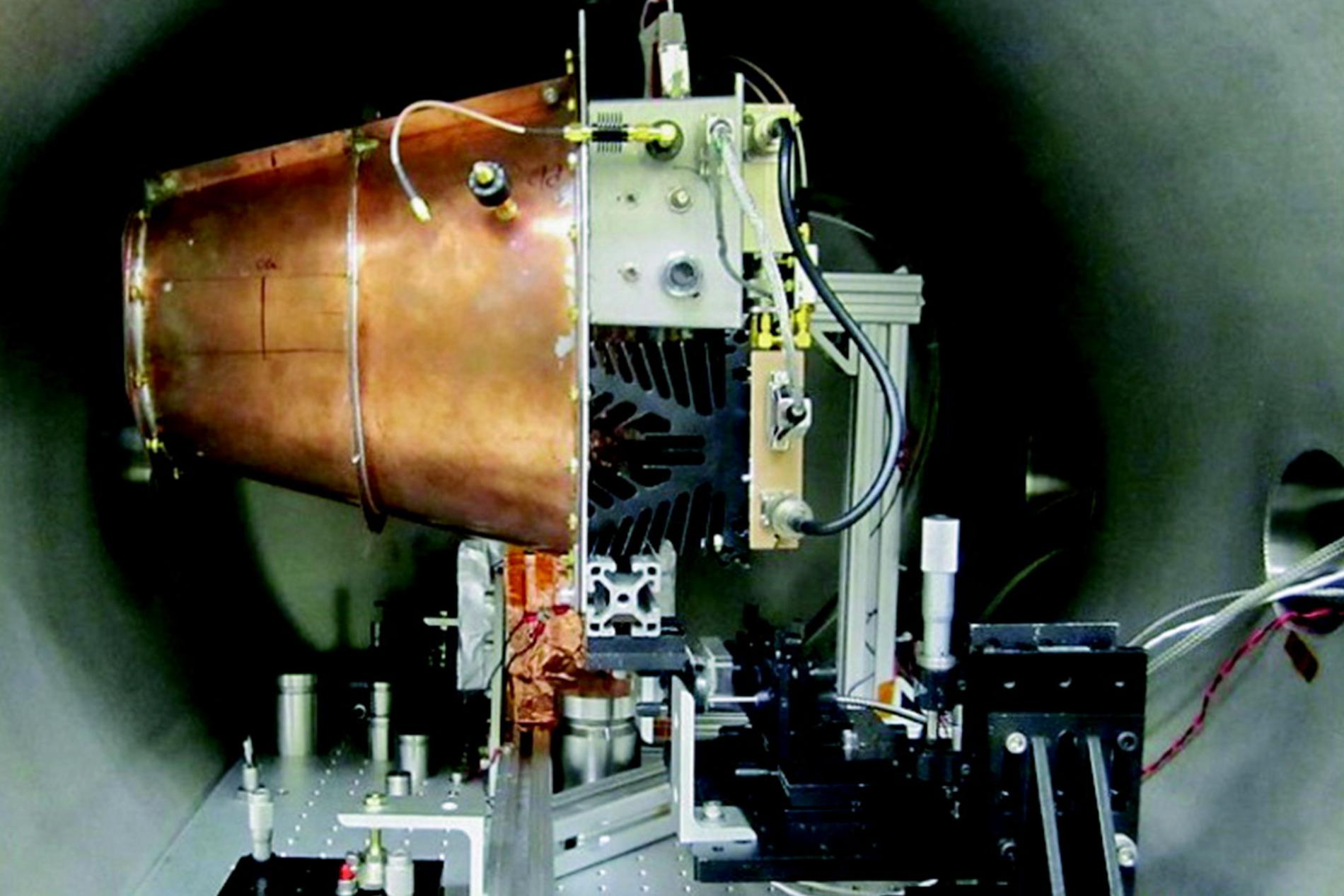 A prototype of the EmDrive. Image credit: Eagleworks Laboratories, NASA. AIAA.